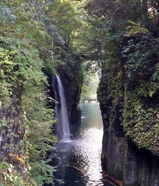201510宮崎・高千穂峡の「真名井の滝」