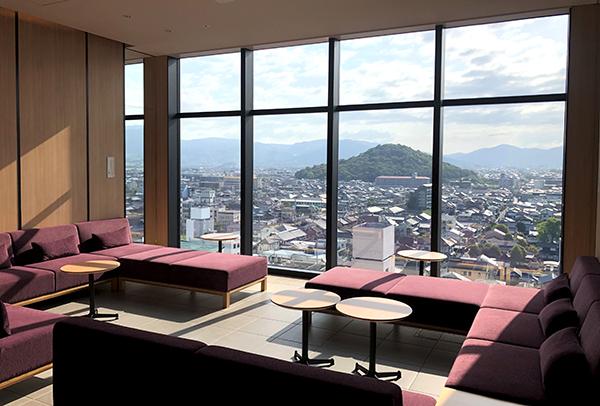 202104春の奈良一人旅。カンデオホテルズ奈良橿原の湯上り処の朝