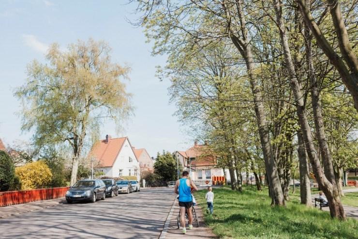 Eftersnack och springtävling med Elliot hem. Foto: Lisa Wikstrand