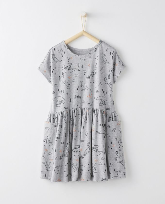 Discover Swing Dress In Organic Cotton
