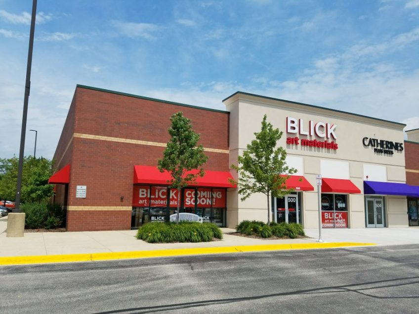 BLICK art materials- Schaumburg, Illinois