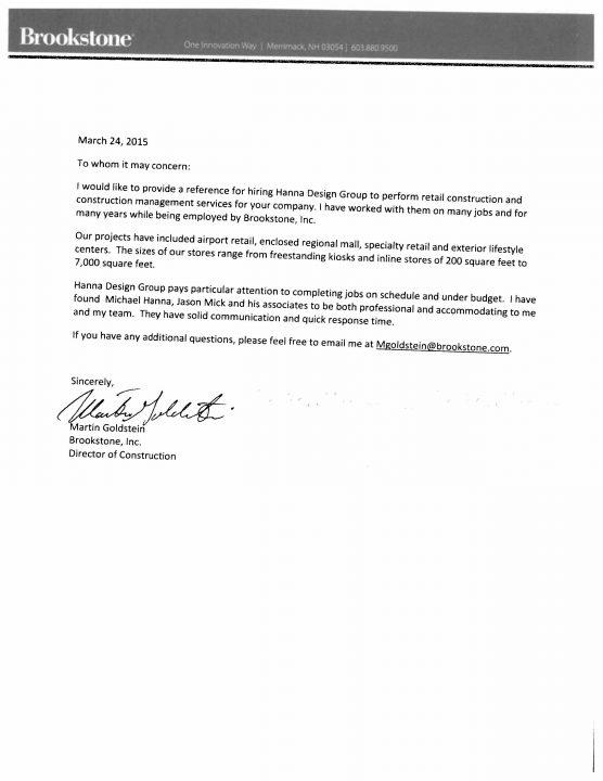 Client Testimonials-Brookstone