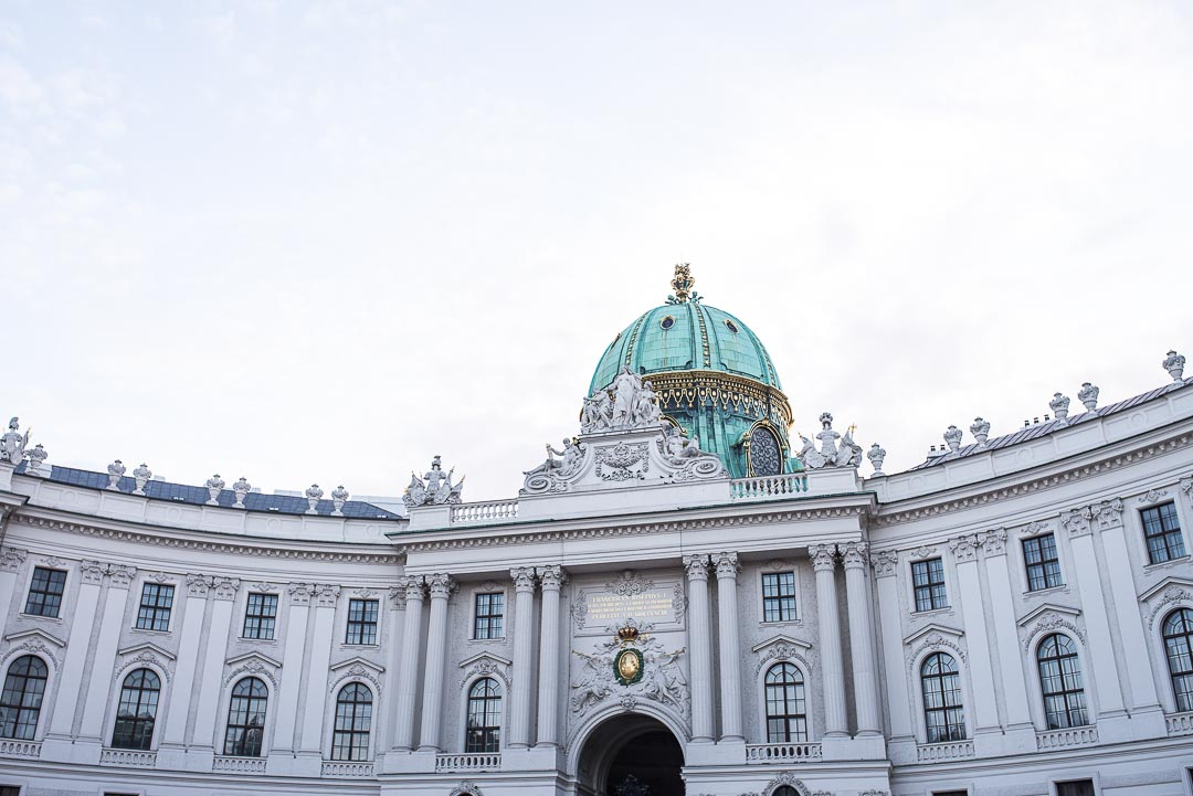 Hofburg Palace where the Winter Riding School is housed