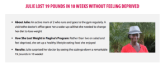 Weight loss case study