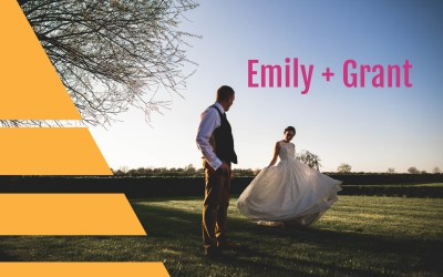 Wedding at Top Farm Tiffield | Northamptonshire Wedding Photographer | Emily + Grant