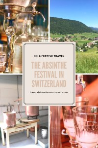 The Absinthe Festival in Switzerland pin - HH Lifestyle Travel