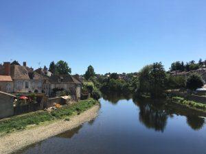 Gartempe River - Montmorillon France