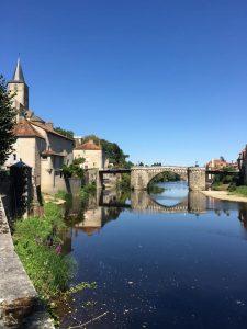 Bridge over Gartempe - Montmorillon France