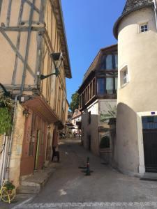 Montmorillon old town