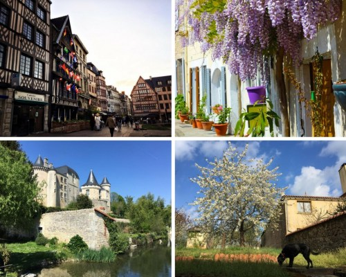 Rouen and France Collage - 2017: My Travel Year in Review - HH Lifestyle Travel