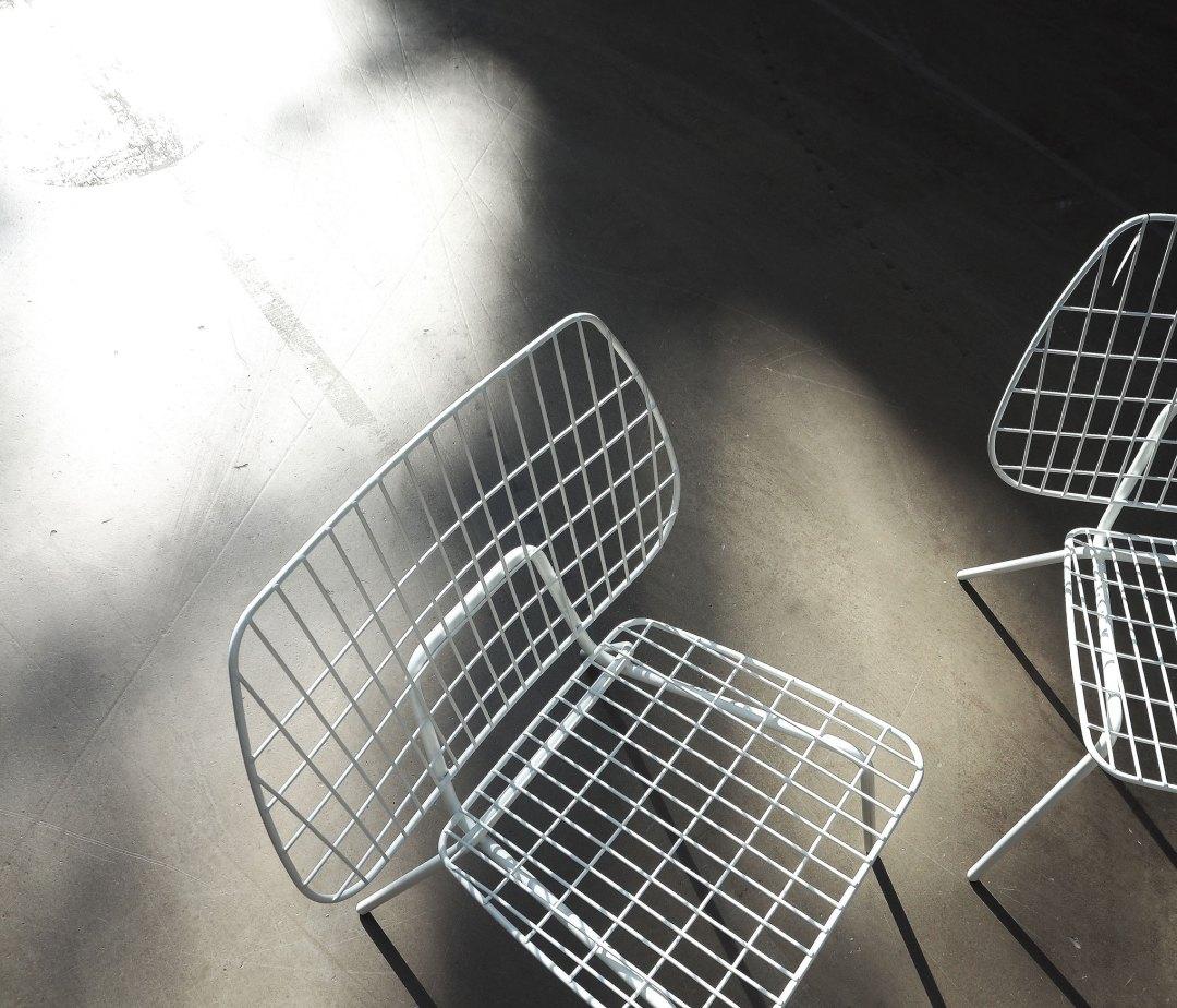 menu wire chair