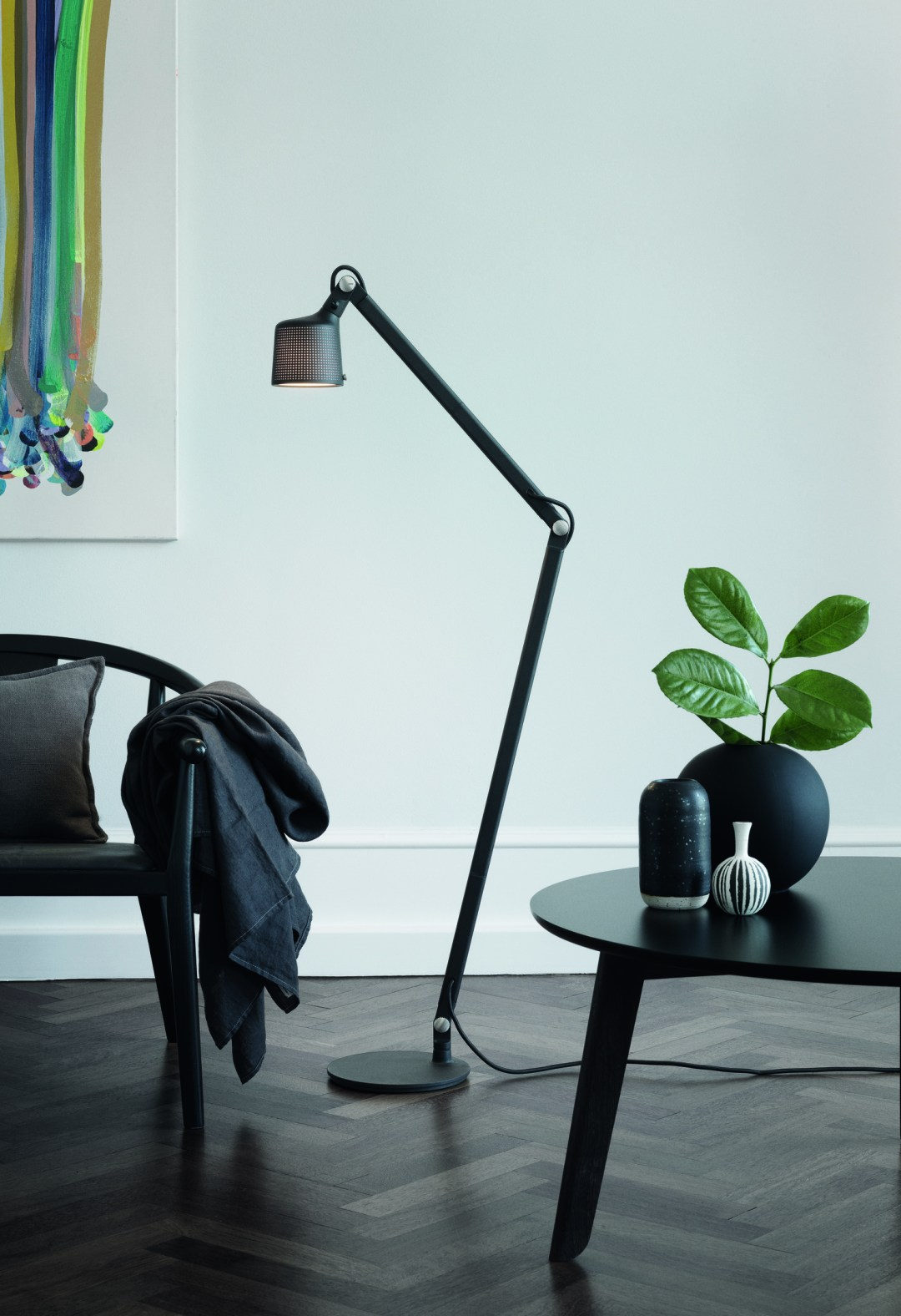 Industrial floor lamp - Vipp lighting