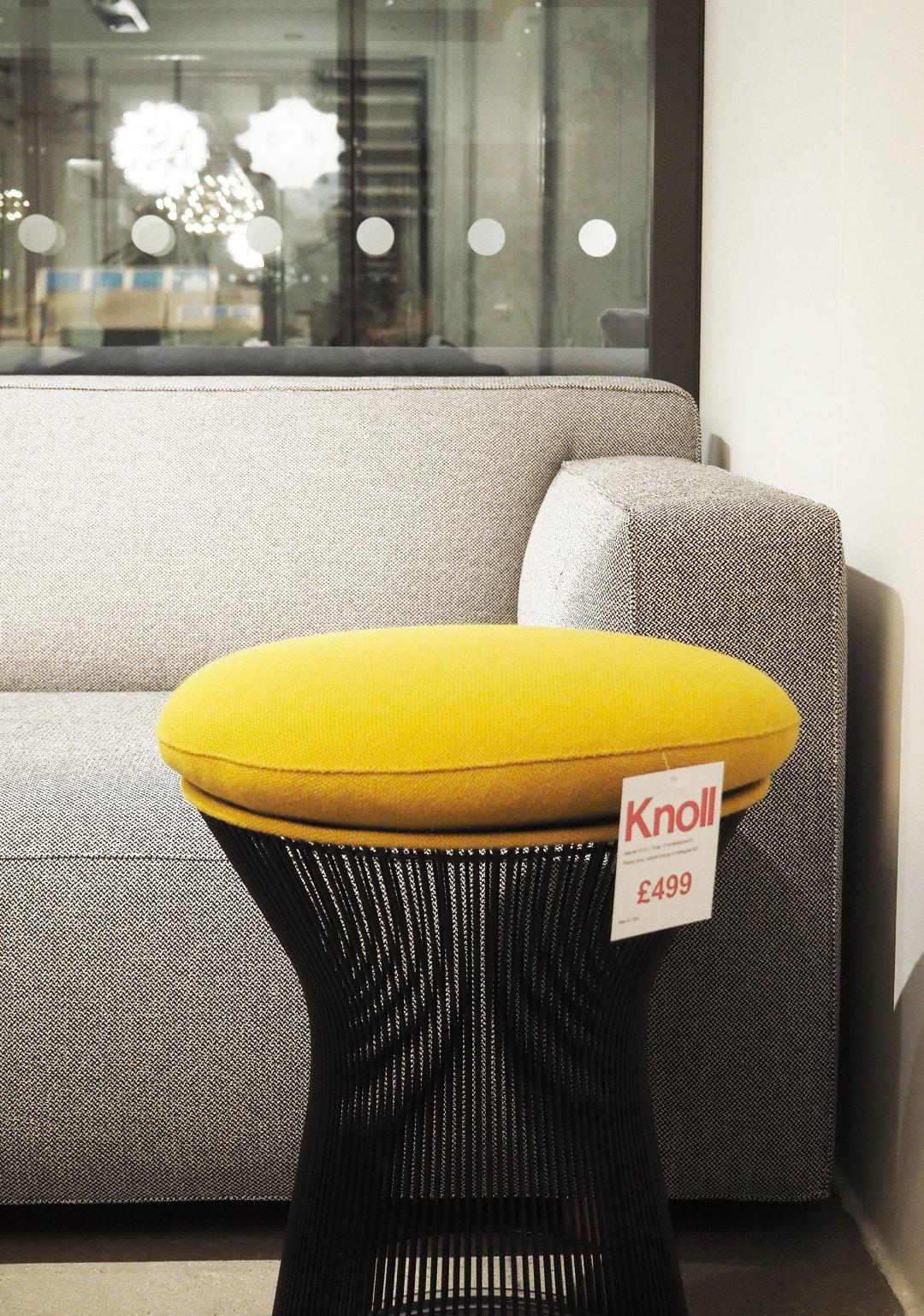 platner stool - Knoll