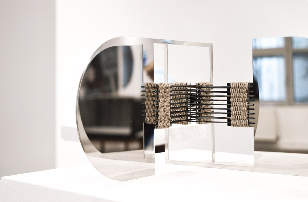 Woven Mirror by Elkeland studio at northmodern Copenhagen