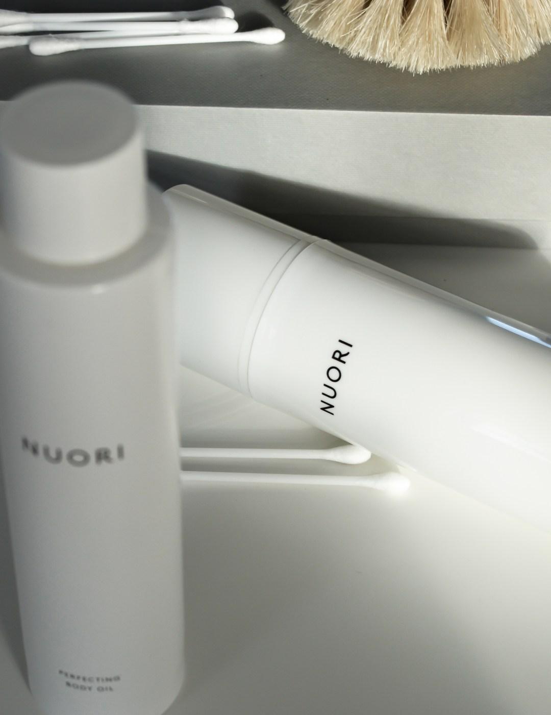 Danish Skincare NUORI , minimalist, beauty