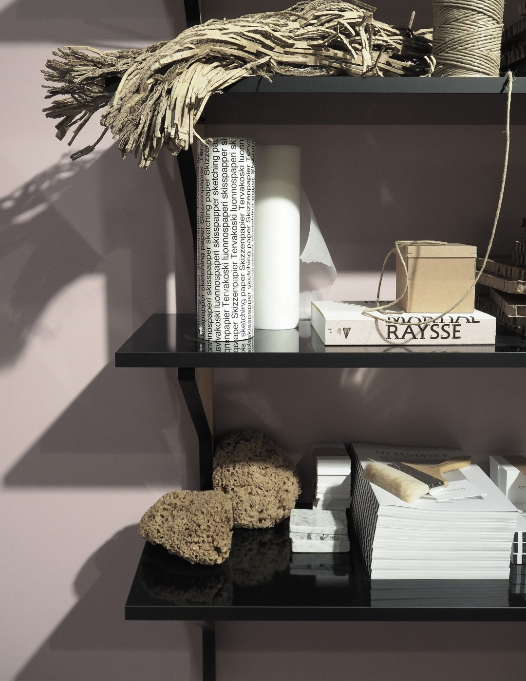 Pink office, Styling by Lotta Agaton