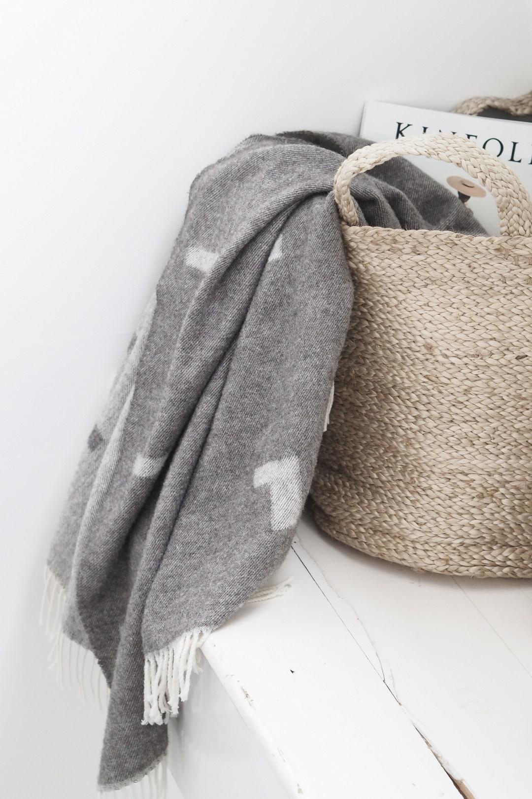 Woven baskets, Scandi storage