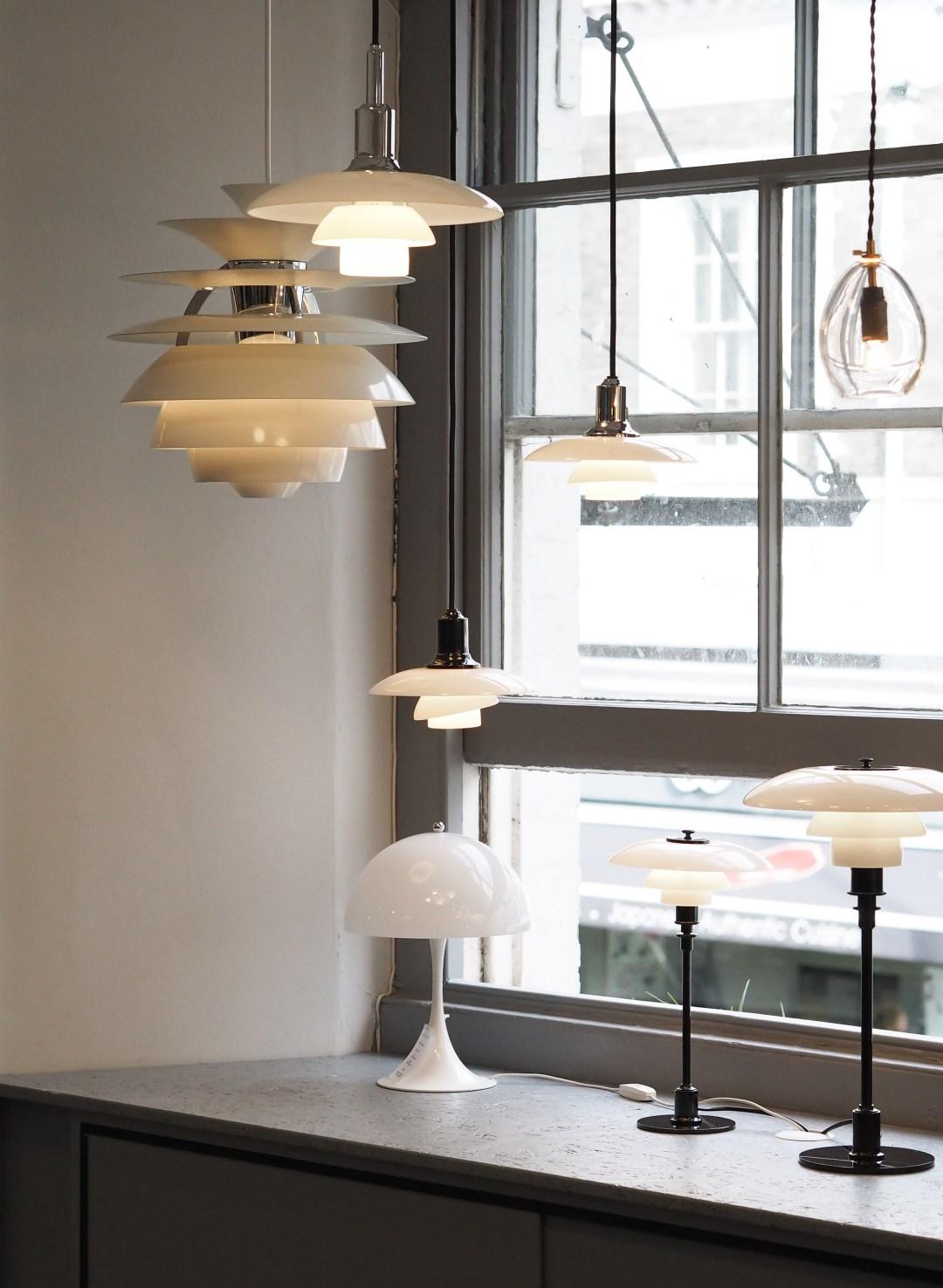 Louis Poulsen lighting, Skandium, Scandinavian design