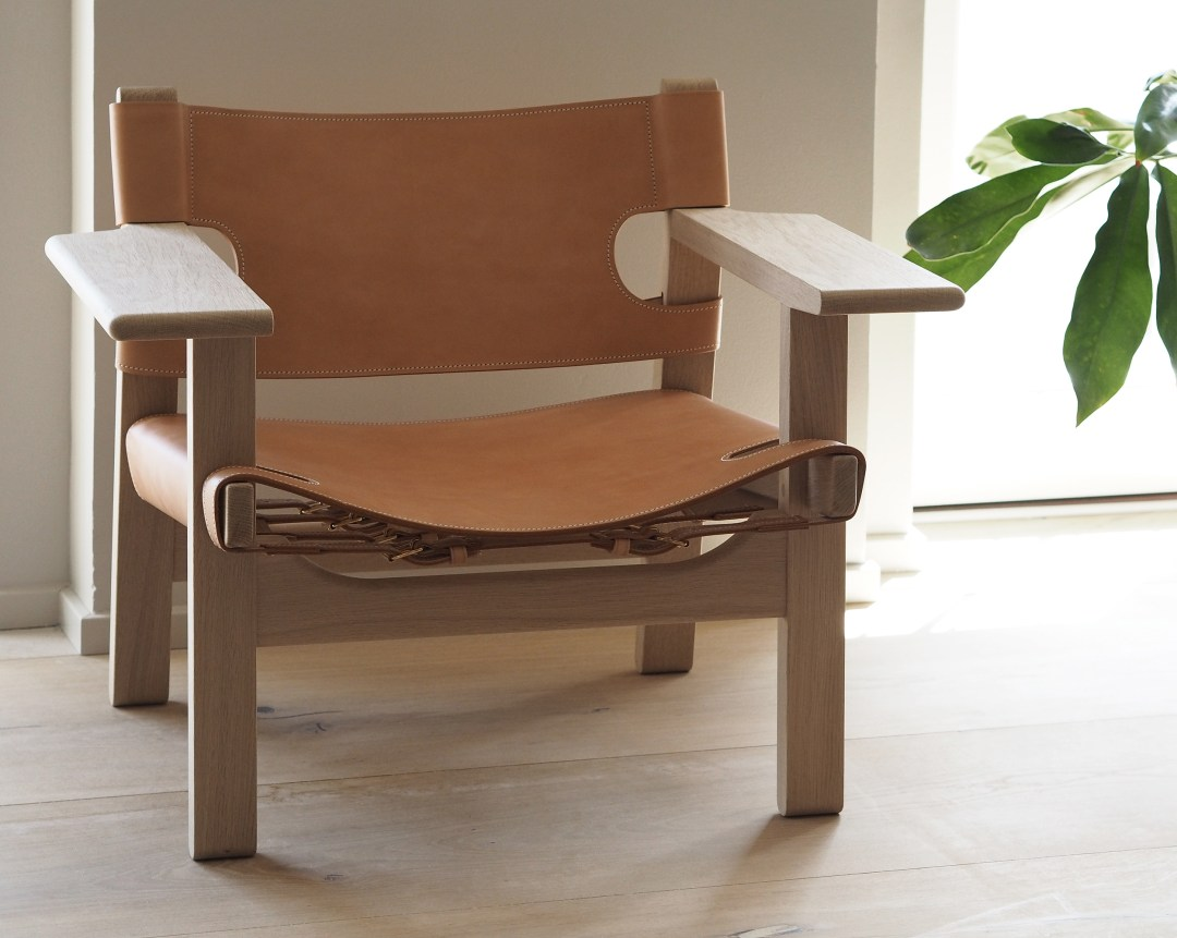 The Spanish Chair, Designed by Børge Mogensen for Fredericia. Danish Design
