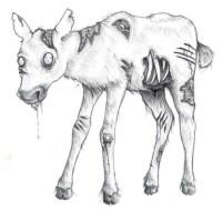 Zombie Calf