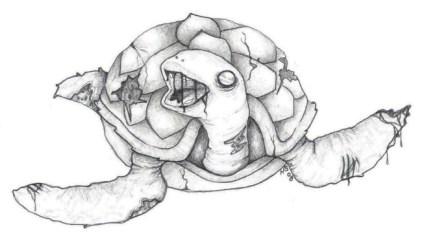 Zombie Turtle
