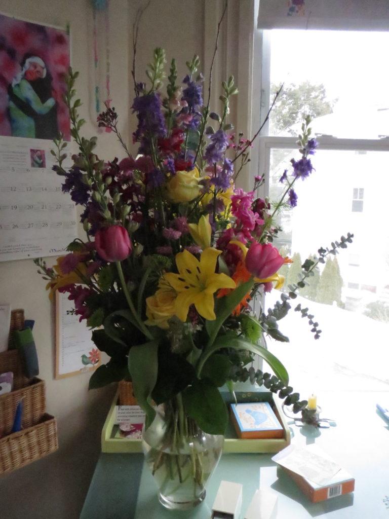 fancy floral arrangement