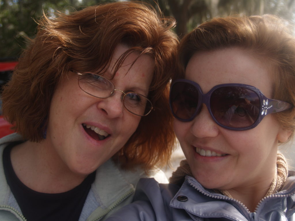 Mom and I in Florida a few years back