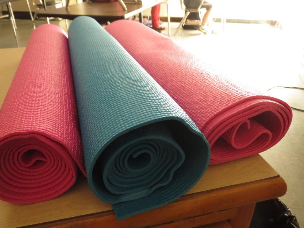 3 mats from Wal-mart