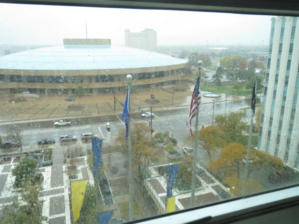 rainy morn in Wichita