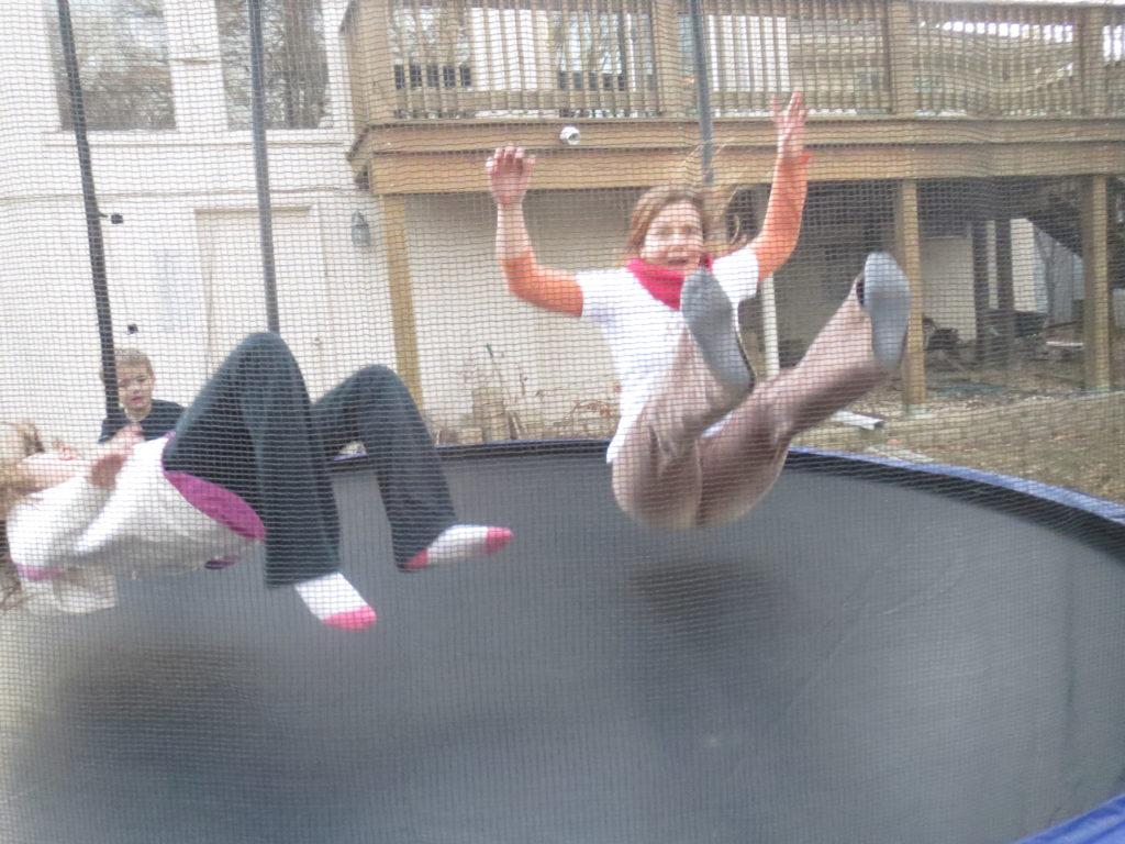 trampoline!