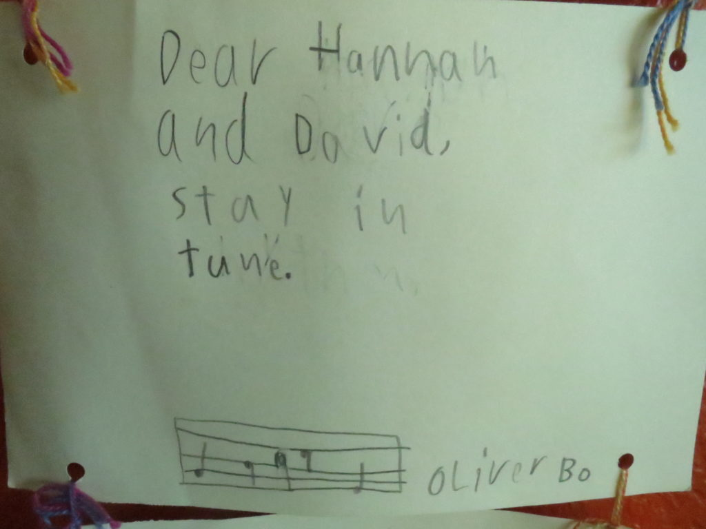 Oliver's advice