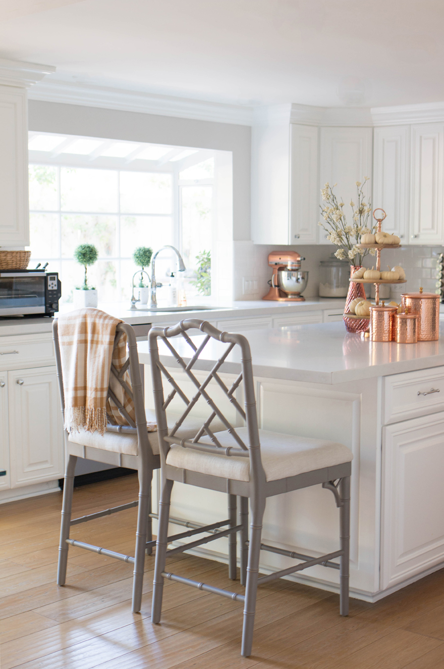 fall kitchen decor ninja system pulse are permanent fixtures in the but 3 tier dessert stand and hammered canisters saved for certain occasions like seasonal decorating