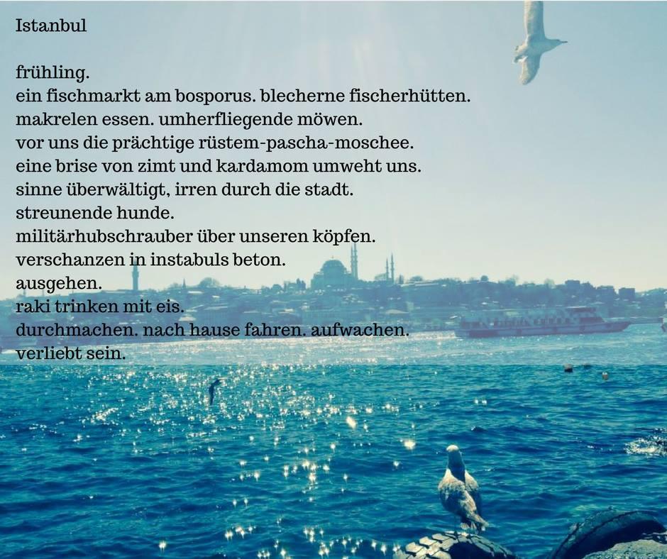 Istanbul – Gedicht #3
