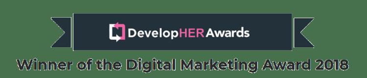 DevelopHER Awards Banner