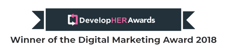 DevelopHER Awards Banner