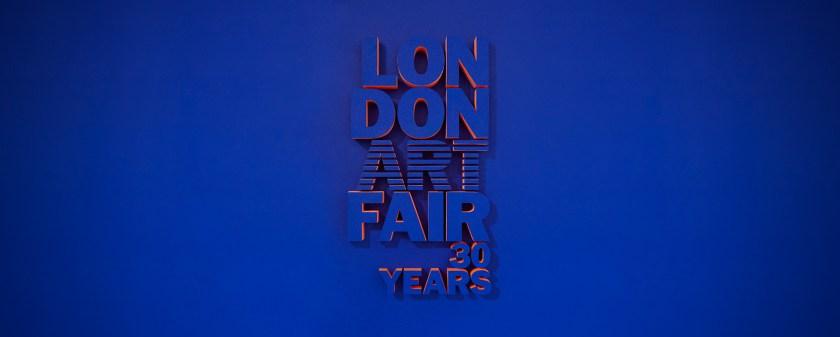 London Art Fair banner
