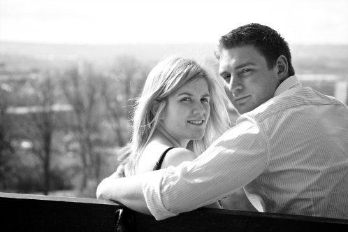 Michelle & Barry at Brandon Hill, Bristol