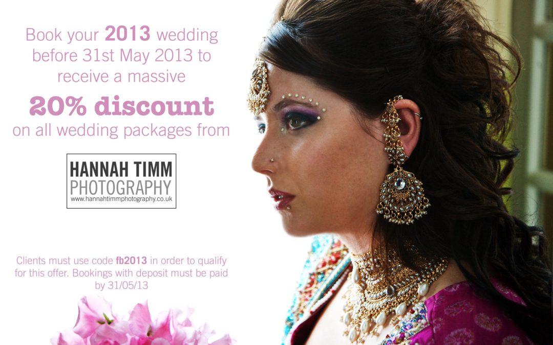 Wedding Photography Bristol 2013 special discount
