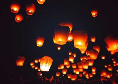Ping xi Lantern Festival, Taiwan