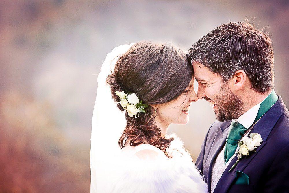Elizabeth & John's winter wedding at Christ Church Clifton