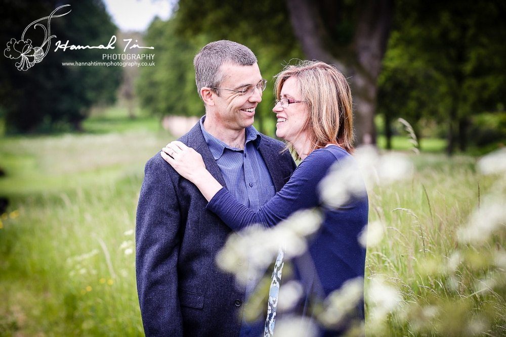 Derek & Liz; Engagement Portrait photographs at Ashton Court, Bristol