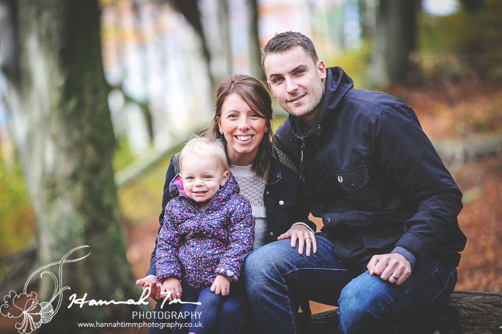 Family photo shoot at Castle Coch