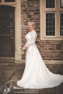 Bridal full length portrait