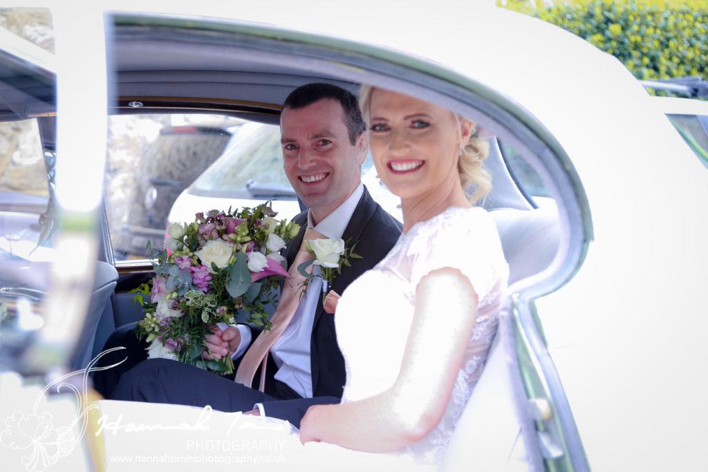 wedding photography bridal car