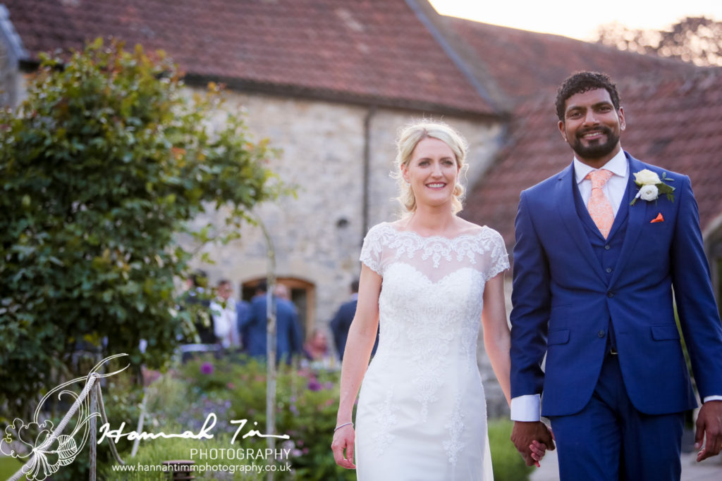 Bride and Groom Priston Mill