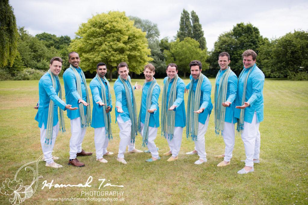 Hindu groomsmen