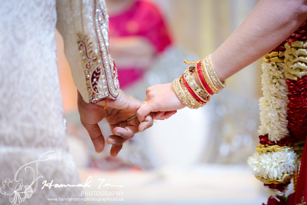 hands Hindu wedding photography