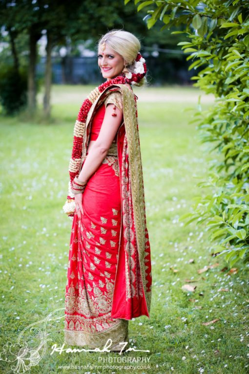 Asian style bride