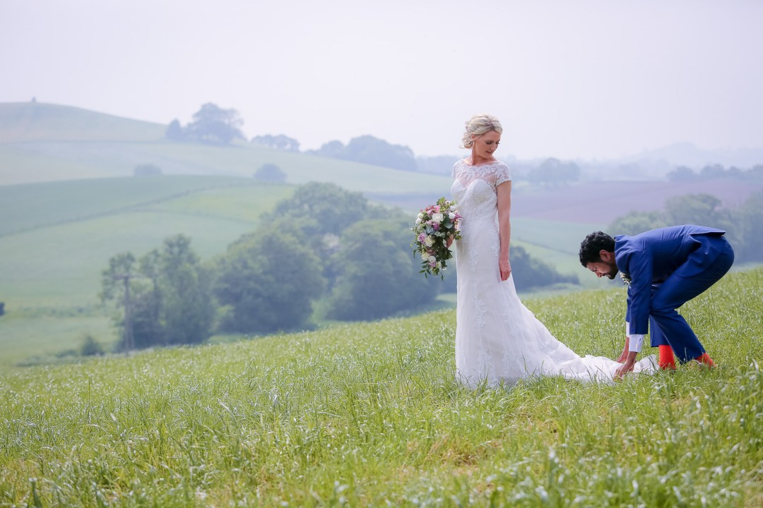 wedding photography near Priston Mill