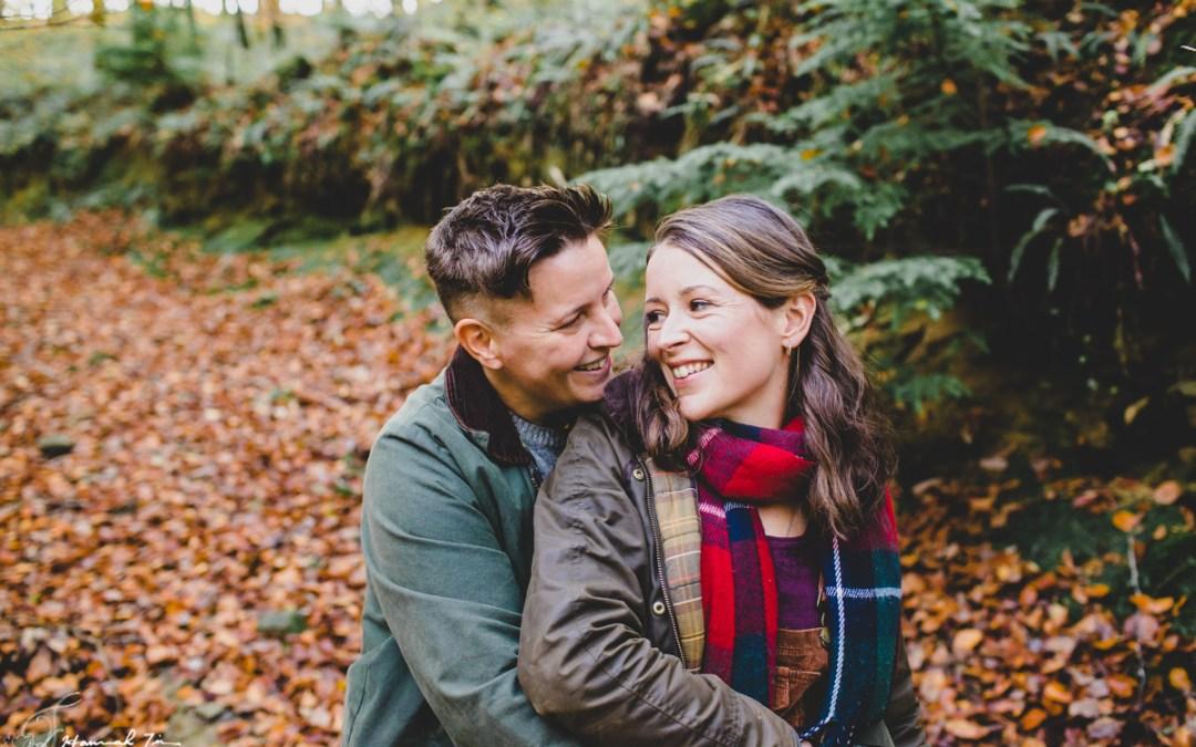 Cornwall Autumn Couples shoot